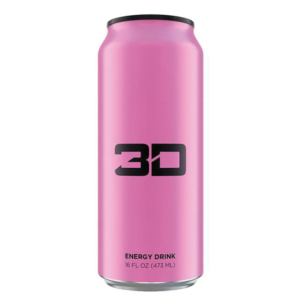 3D Energy Drinks Pink