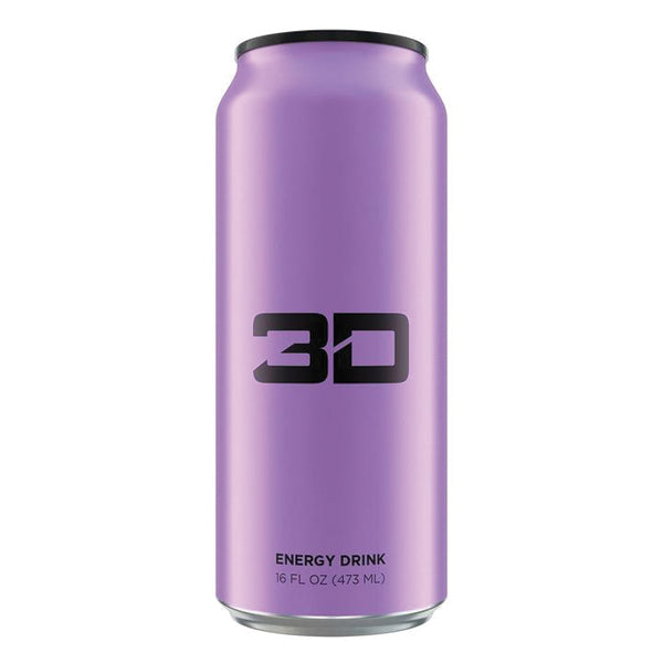 3D Energy Drinks Purple