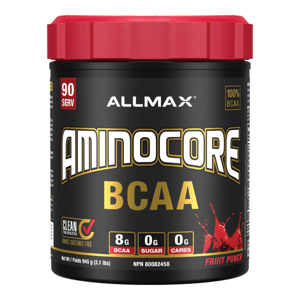 Allmax Amincore BCAA 90 servings Fruit Punch