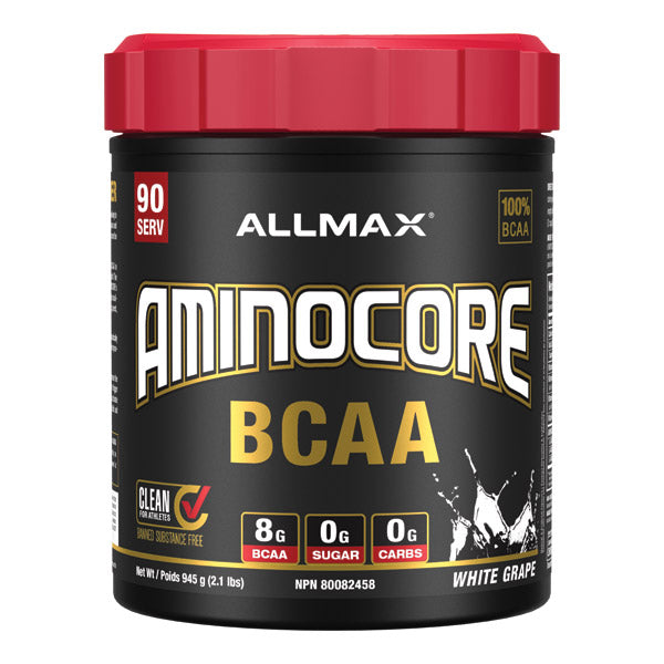 Allmax Aminocore BCAA 90 servings White Grape