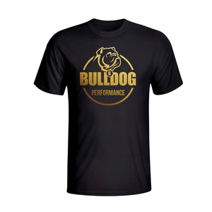 Bulldog Performance T-Shirt Gold Logo