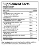 Nutrabolics Thermal XTC Supplement Facts Fruit Punch