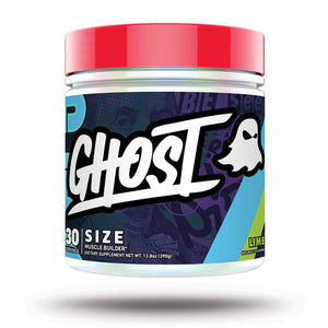 Ghost Lifestyle Size Muscle Builder Supplement Lime