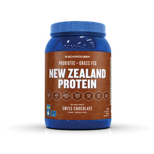 Schinoussa New Zealand Whey Isolate Protein Swiss Chocolate 2lbs