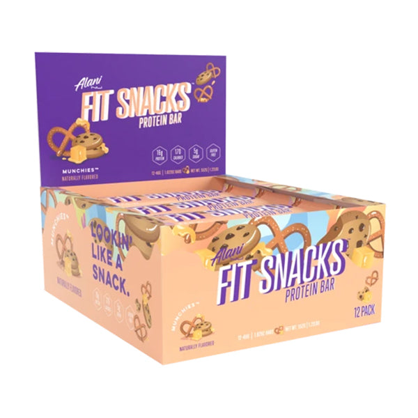Alani Nu Fit Snacks Protein Bars Munchies