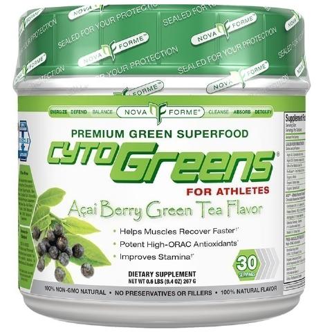Nova Forme CytoGreens, 30 servings