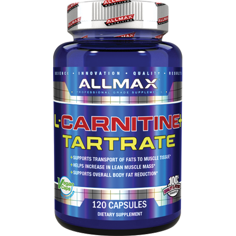 Allmax L-Carnitine Tartrate 120 caps