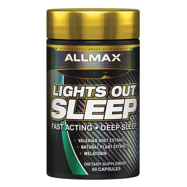 Allmax Lights Out Sleep Enhancer Supplement Canada