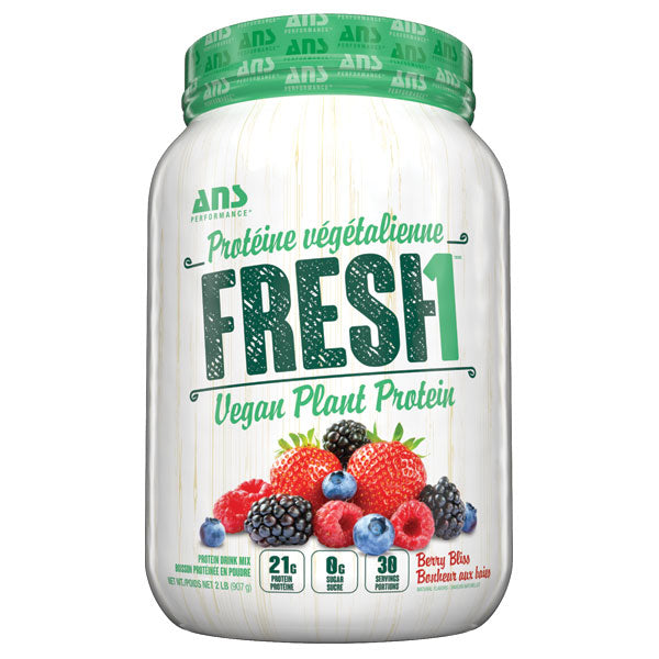 ANS Fresh1 Vegan Protein Berry Bliss