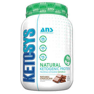 ANS Ketosys Protein Natural Chocolate sweetened with stevia