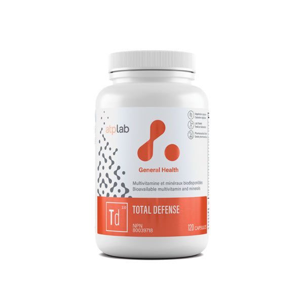 ATP LAB Total Defense High Potency Multi Vitamins