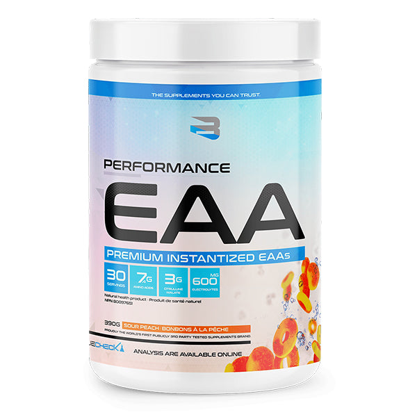 Believe Supplements EAA Intra Workout Sour Peach