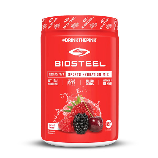 BioSteel Sports Hydration Mix 45 serve Mixed Berry