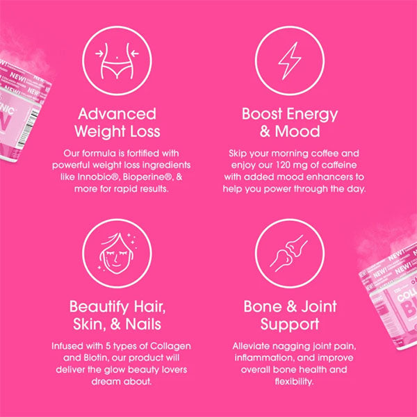 Obvi Collagen Burn Weight Loss Supplement