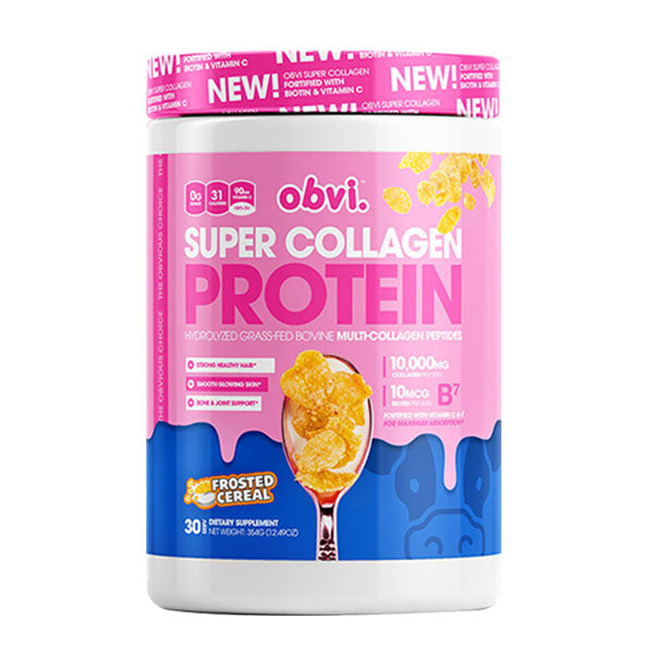 Obvi Super Collagen Protein Frosted Cereal