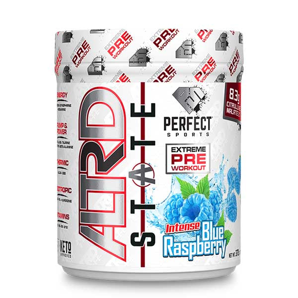 Perfect Sports Altrd State Pre Workout Intense Blue Raspberry