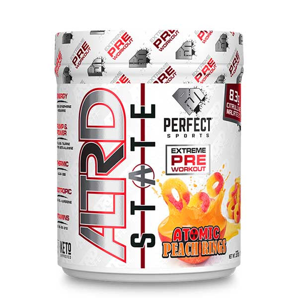 Perfect Sports Altrd State Pre Workout Atmoic Peach Rings
