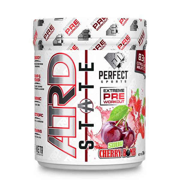 Perfect Sports Altrd State Pre Workout Sour Cherry Bomb