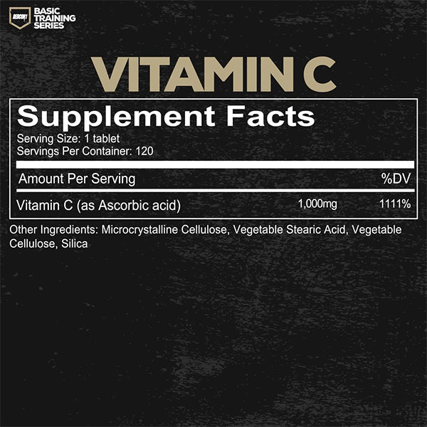 Redcon1 Vitamin C Supplement Facts