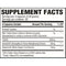 Revive Liver Support Supplement Facts