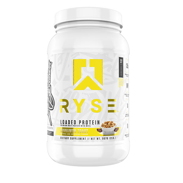 Ryse Loaded Protein 2lbs Cinnamon Toast