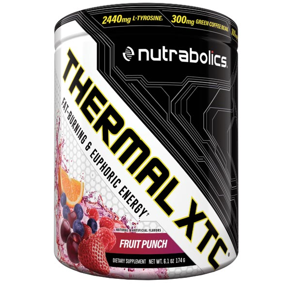 Nutrabolics Thermal XTC Fruit Punch New