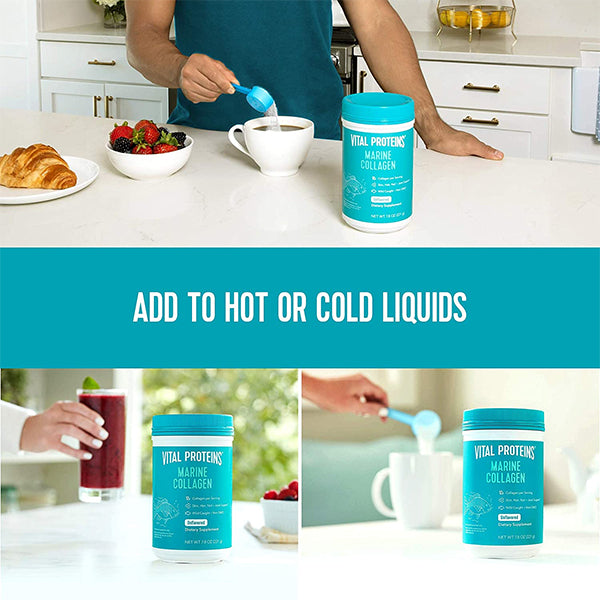 Vital Proteins Marine Collagen Hot or Cold Use
