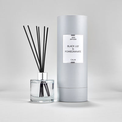 Simple Black Lily & Pomegranate Large Luxury 150ML Diffuser