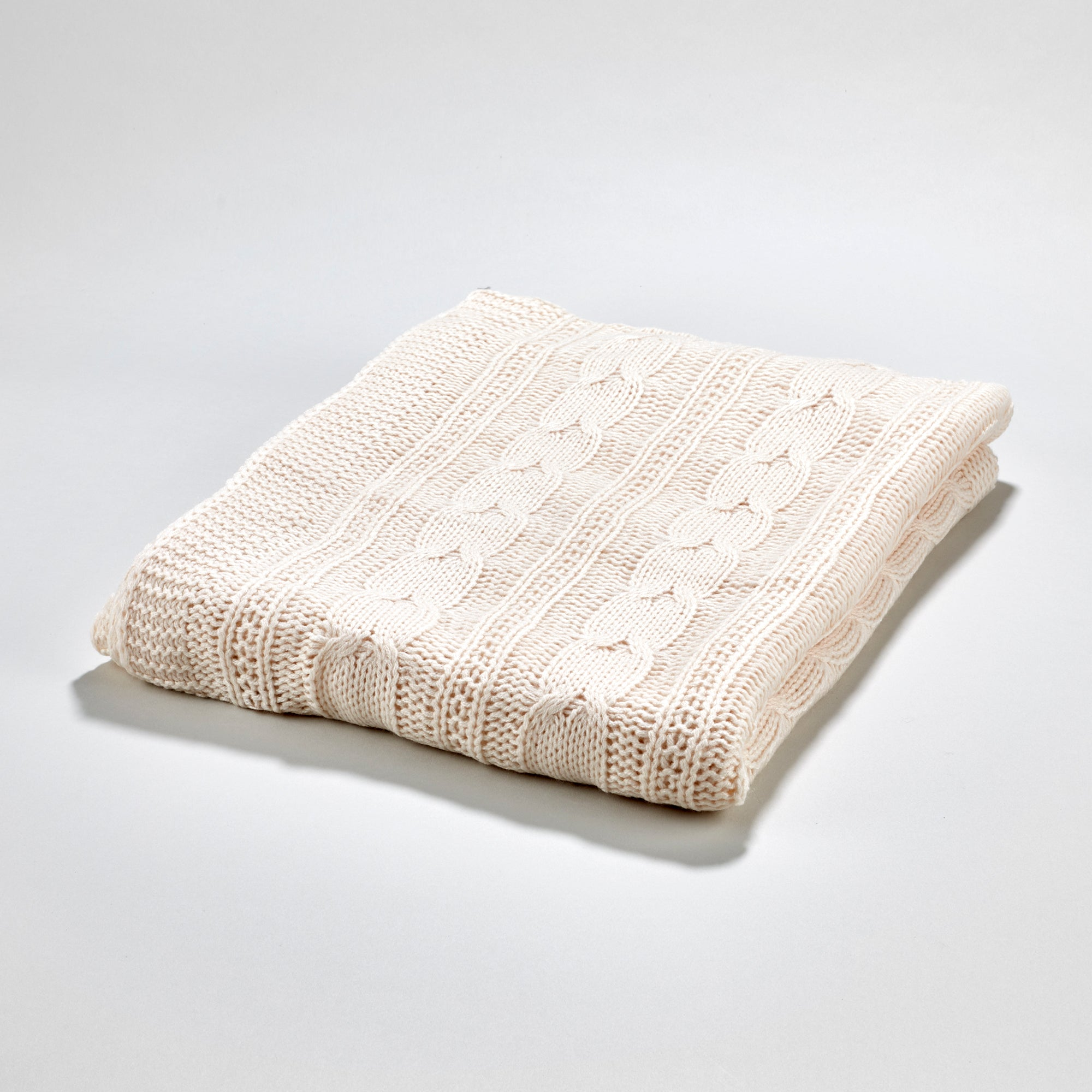 Fjord Throw - Ivory