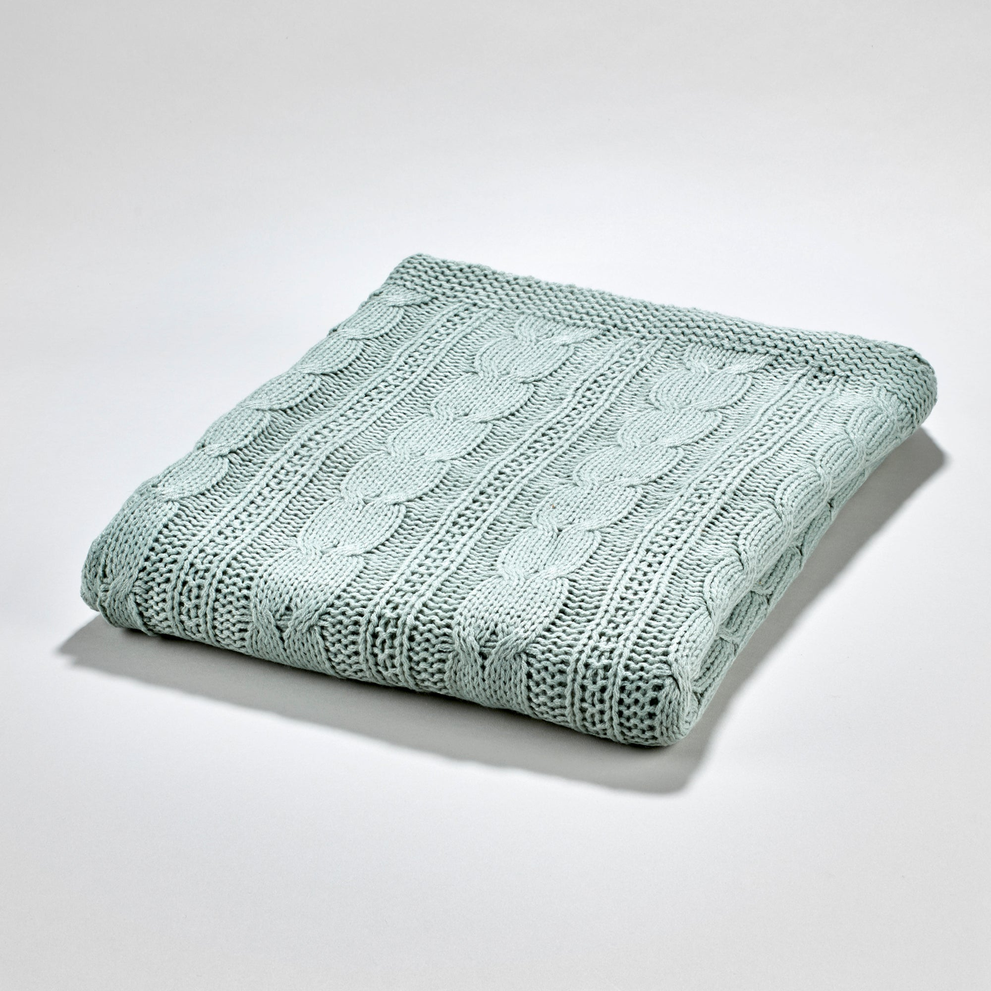 Fjord Throw - Duck Egg Blue