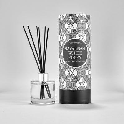 Simple Savannah & White Poppy Large Luxury 150ML Diffuser