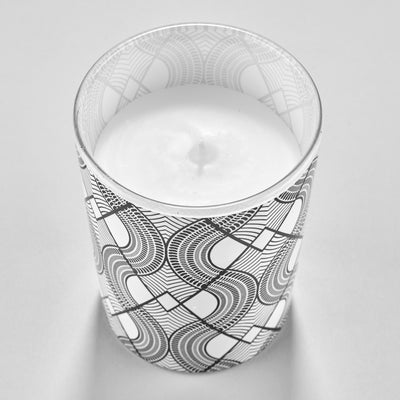 Savannah & White Poppy Scented Candle inside Monochrome Gift Box