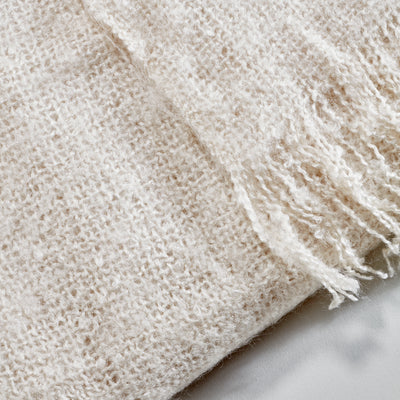 Vogue Throw - Ivory