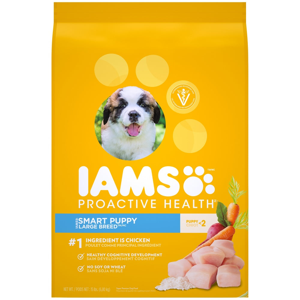 Iams ProActive Health Smart Puppy Large Breed Dry Dog Food