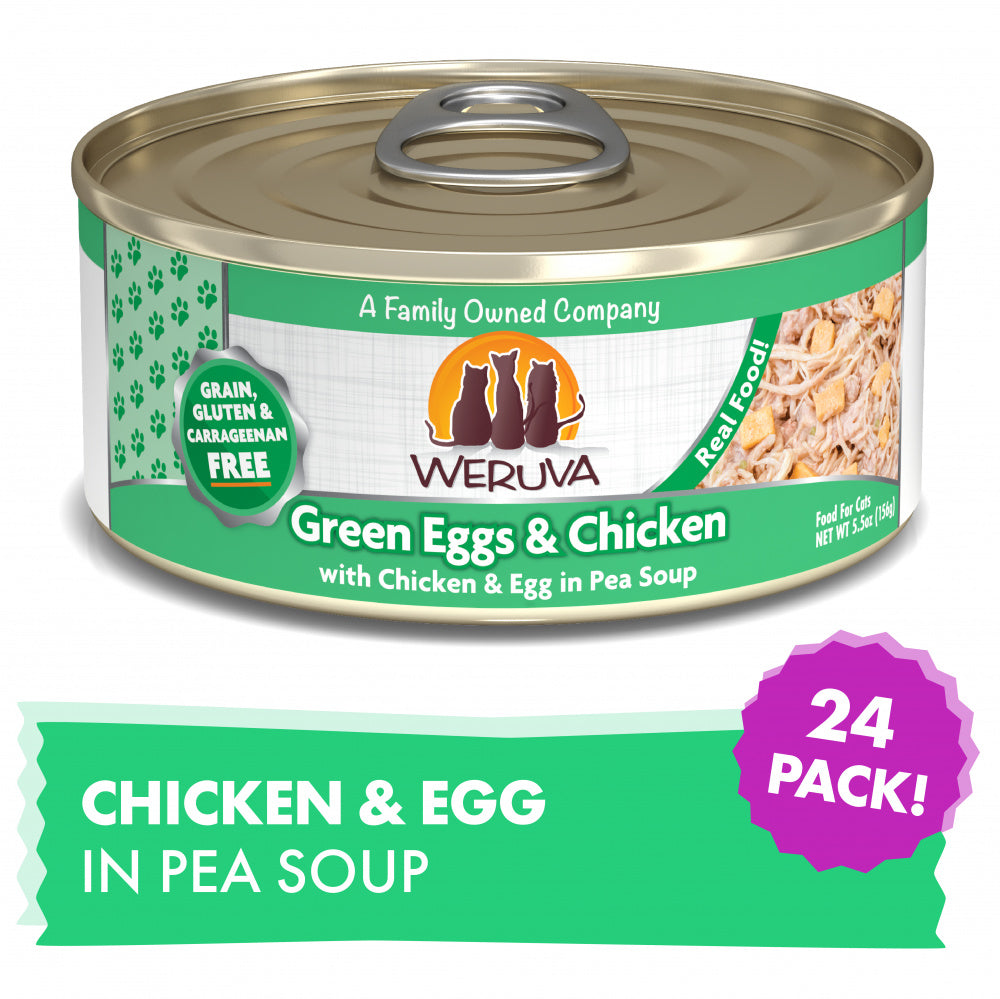 Weruva Green Eggs And Chicken Formula Canned Cat Food