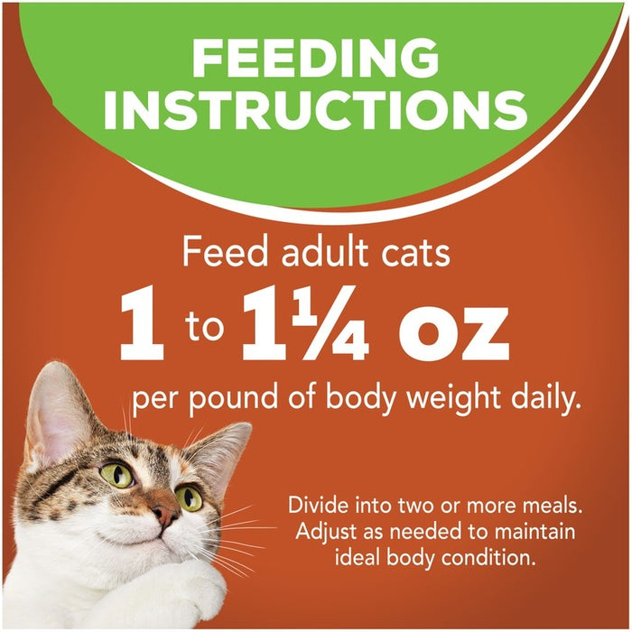 Friskies Selects Indoor Chunky Chicken and Turkey Casserole Canned Cat Food