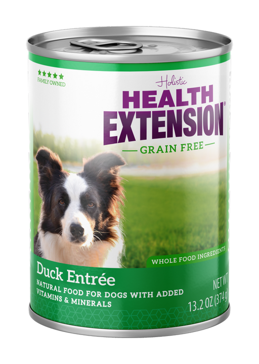 Health Extension 100% Grain Free Duck and Sweet Potato Entree Canned Dog Food