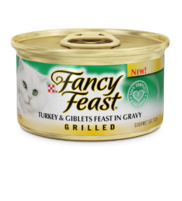 Fancy Feast Grilled Turkey and Giblets Feast Canned Cat Food