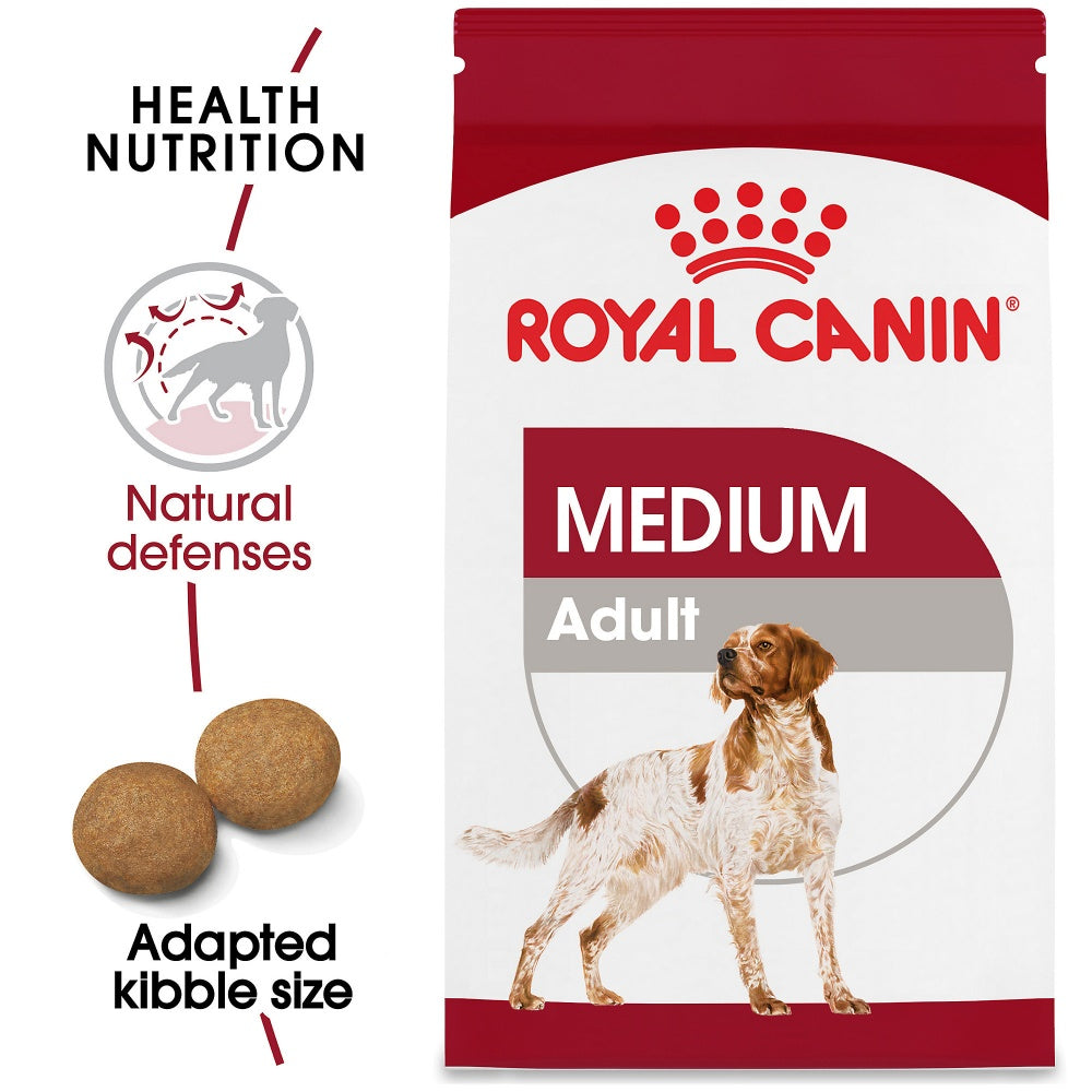 Royal Canin Size Health Nutrition Medium Adult Dry Dog Food