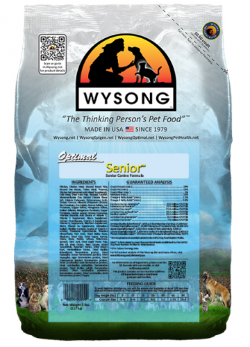 Wysong Optimal Senior Premium Dry Dog Food