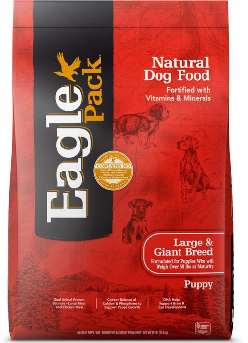 Eagle Pack Natural Large Breed Health Puppy Dry Dog Food