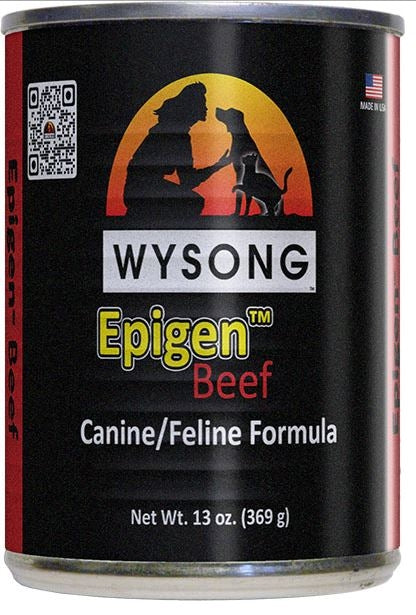 Wysong Epigen Beef Formula Canned Dog and Cat Food
