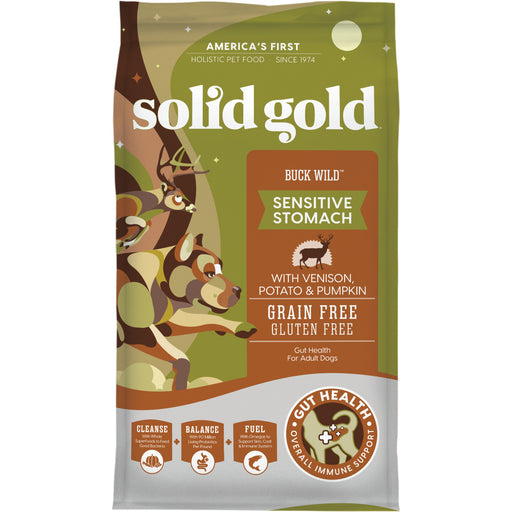 Solid Gold Buck Wild Adult Venison, Potato, & Pumpkin Recipe Dry Dog Food