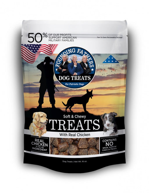 Founding Fathers Soft & Chewy Real Chicken Dog Treats