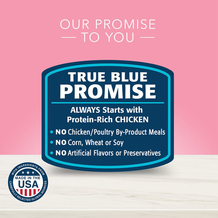 Blue Buffalo True Solutions Blissful Belly Natural Digestive Care Chicken Recipe Adult Wet Dog Food