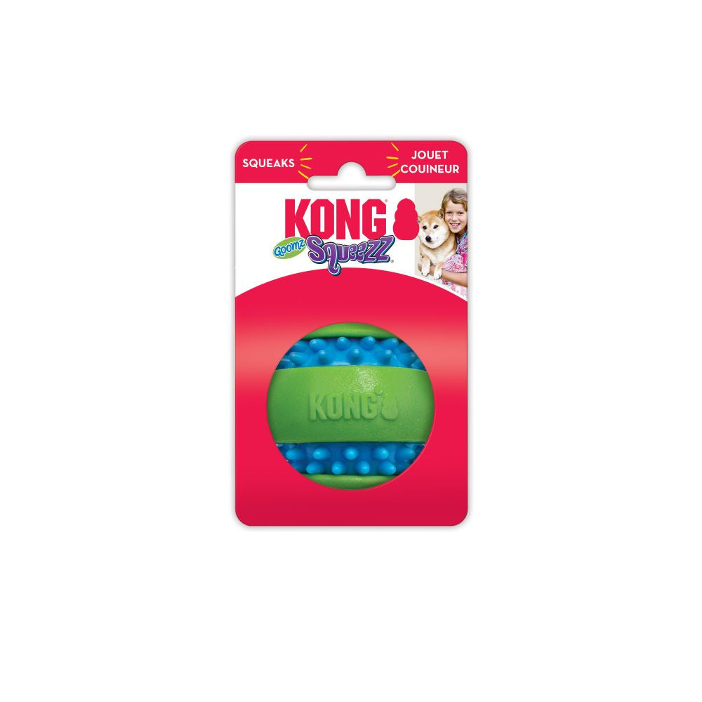 KONG Squeezz Goomz Ball Dog Toy