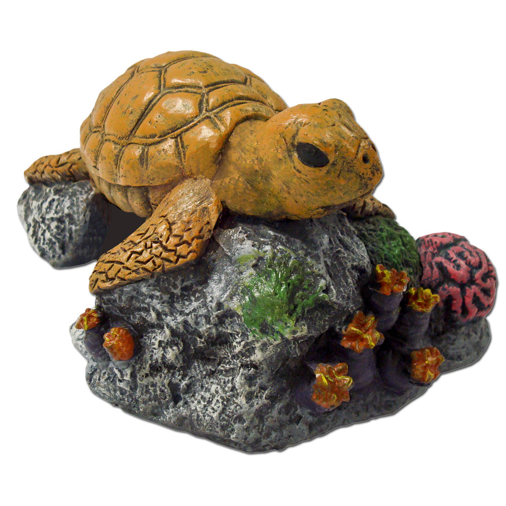 Blue Ribbon Exotic Environments Sea Turtle Tank Accessory
