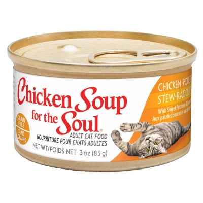 CHICKEN SOUP CHICKEN/POTATO/SPINACH STEW CAT