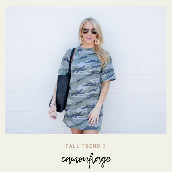 Fall Trend 3 : Camouflage