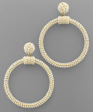 Beaded Circle Earring - 3 colors